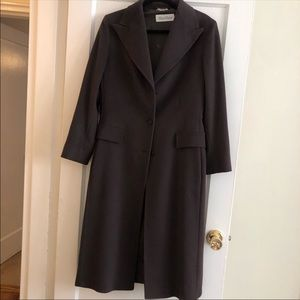 Max Mara brown wool coat, Excellent condition!!